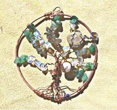 Wire Stone Bead Tree of Life