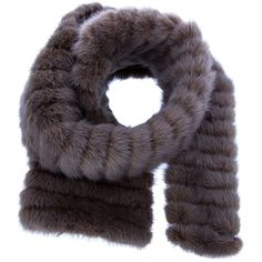 LORO PIANA Mink fur scarf found on Polyvore