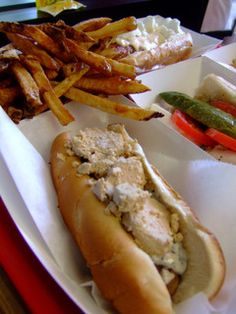 Foie Gras Hot Dog at Hot Doug's in Chicago
