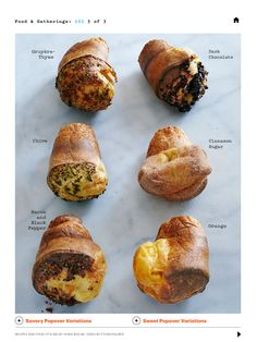 1000+ images about Popovers and Gougeres on Pinterest | Popover Recipe ...
