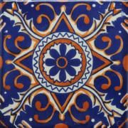 Hand Painted Decorative Tiles Magnificent This Cuerda Seca Decorative Tile Has A Traditional Design With A Decorating Inspiration
