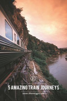 5 Amazing Train Journeys to Consider Taking in Your Life #theeverygirl