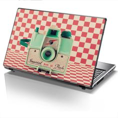 Laptop Cover RETRO CAMERA by Sticky!!!