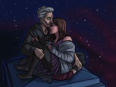 Whouffaldi, IN SPACE *blows kisses*
