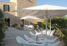 restaurant mediterranean cuisine, dining room with views, Son Barbassa Majorca
