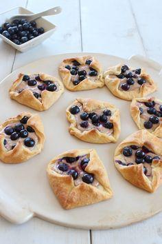 Blueberry Cream Cheese Breakfast Pastries
