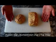 How to Make Ketogenic Bread? – Keto tarifleri – The Most Practical and Easy Recipes Healthy Nutrition, Healthy Snacks, Healthy Eating, No Bread Diet, Tasty Kitchen, Turkish Recipes, Ketogenic Recipes, Ice Cream Recipes, Low Carb Keto