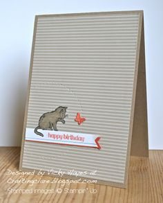 Card made with Storybook Friends from Stampin Up