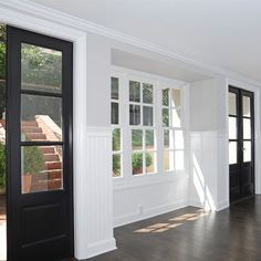 Just like our house, but with black doors. Trying to convince J this is what we need to do.