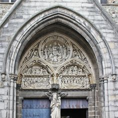 Entrance to the Church of Our Lady