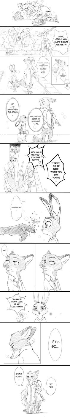 Valentines Day in Zootopia. Another nice comic by Rem289