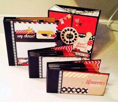 The Harry & David Gift Box with 3 Mini Scrapbooks