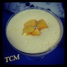 Mousse de yogur y mango Thermomix