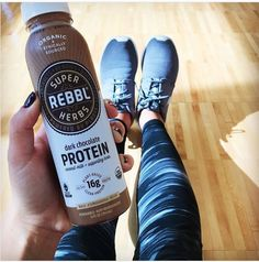 ad: Do you HIIT it hard at the gym? Though chocolate milk often gets the nod for being the ultimate after-exercise beverage, now you can hit your post-workout pit stop better with #REBBL protein drinks. Each bottle offers 16 grams of plant based protein, plus the super-herbs maca, reishi, and ashwagandha to help your body restore balance from the stress of exercise. #betternotperfect