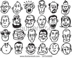 comic book facial expressions - Google Search
