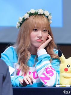 WJSN - Lee Luda #이루다 #루다 at Hapjung fansign 160402 #우주소녀직찍 - 합정 팬사인회
