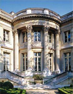 Exhibition about Historic Parisian Private Mansions at the Cité de l'architecture et du patrimoine, Place du Trocadéro, Paris XVI