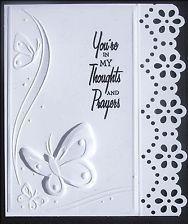 Darice dress Embossing Folders | Beautiful Elegant BUTTERFLIES & SWIRLS Darice Embossing Folder NEW