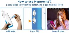 MyPurMist is a revolutionary natural therapy for your sinus congestion, colds and allergies. natural and drug-free therapy for sinus congestion, colds and allergies. Steam is recommended by doctors and medical institutions. Sinus Congestion, Drug Free, Free Therapy, Revolutionaries, Drugs, Breathe, Relax, Medical, Exercise