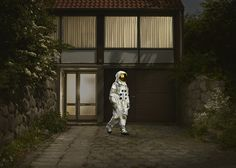 Crash Landed: Astronaut Photos by Ken Hermann | Inspiration Grid | Design Inspiration