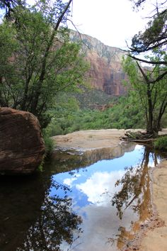 Zion's National Park, Utah ~  Emerald Pools Hike.