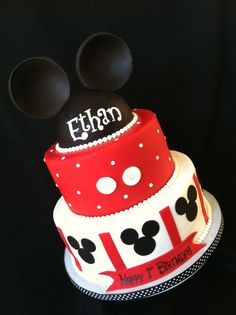 """Mickey Cake Of course spelt """"eithyn """""""
