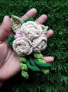 Crochet Flowers, Crochet Necklace, Jewelry, Jewlery, Crochet Collar, Jewels, Jewerly, Jewelery, Crochet Flower