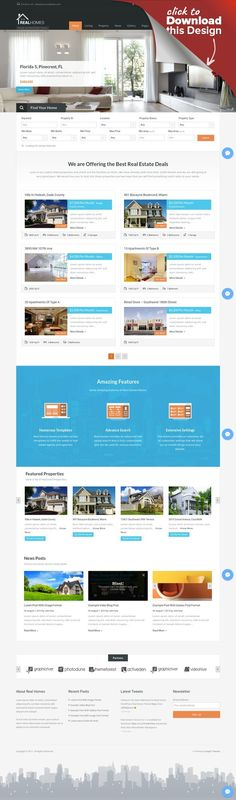 Real Homes - WordPress Real Estate Theme advance search, agent, business, flat, homes, houses, listing, modern, property, real estate, real estate agency, real estate agent, realtor, rent, sale Real Homes is a handcrafted WordPress theme for real estate websites. It offers purpose oriented design with all the useful features a real estate website needs. Real Homes theme facilitates its user on front end as well as on admin-side and makes pro...