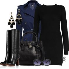 """""""Sweater dress 2"""" by coombsie24 on Polyvore"""