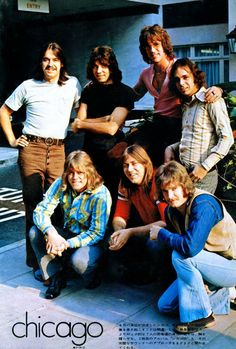 Chicago The Band Rock N Roll, Rock & Pop, Rock And Roll Bands, Rock Bands, Terry Kath, Chicago The Band, 1970s Music, Rock Groups, Music Pictures