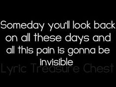 Invisible by Hunter Hayes | Lyrics On Screen | HD