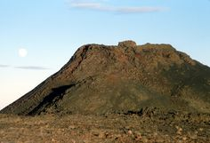 Spatter Cone   Once thought to resemble the Moon, Craters of the Moon's features are borne from volcanic eruptions, not impact craters as on the lunar surface, Craters of the Moon National Monument, Idaho (pinned by haw-creek.com)
