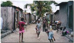 Aboisso slums Slums, Ivory Coast, Ghana, Africa, Street View, Roots, Afro