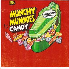 I might have a thing for classic horror Sweet Memories, Childhood Memories, 1970s Candy, Mr Bones, Creepy Kids, Monster Toys, Monster Mash, Candy Packaging, Cartoon Monsters