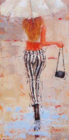 Swingin Painting by Laura Lee Zanghetti