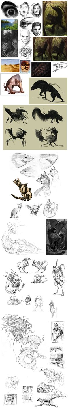 Sketch Dump by GuthrieArtwork.deviantart.com