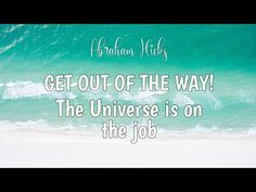 Get Happy, Abraham Hicks, No Way, Trust Yourself, Getting Out, Law Of Attraction, Awakening, The Secret, Favorite Quotes