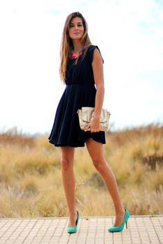 Dress: Persunmall (here) Shoes: Zara (old) Necklace: Bershka (old) Bag: SuiteBlanco (old)