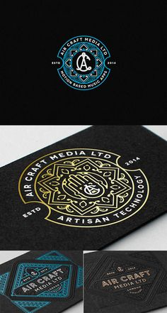 Beautiful and Very Details Logo Designs by Joe White | iBrandStudio #design #branding #brand #cool #logo #black