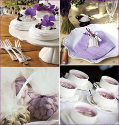 oh, how posh! blog | Your Swanky Chic Guide For Entertaining Inspiration » Posh Inspiration: Purple Bridal Shower