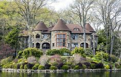 A $6M Stone Manse From the Blue Blood Town Where the Tuxedo was Born - House of the Day - Curbed National