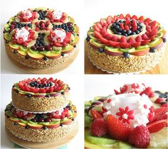 Collage Torta di Frutta by Dile SciefScientifico, via Flickr