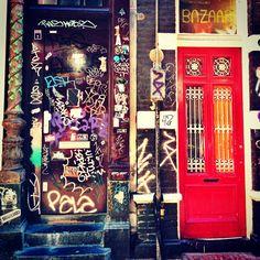 Doors. Amsterdam