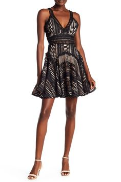 ec445a7132eb  ad Deep V Lace Sundress F8SDRL04038. Price   73.50.  Fashion  Womens