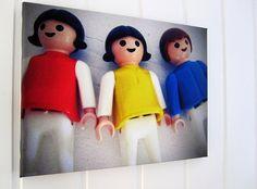 Playmo: photo on canvas by Kari Anne Marstein ART via flickr.