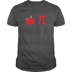 Awesome Tee Apple Pi  Funny Math Food Pun Pie Shirt Shirts & Tees