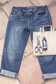CouldIHaveThat: DIY: Ombre Cut-Off Shorts