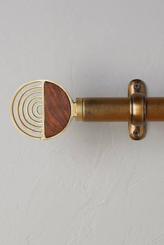 Discover unique curtain rods, finials and tiebacks at Anthropologie, including the season's newest arrivals. Curtain Hardware, French Style Homes, Home Curtains, Home Design Decor, Interior Design, Design Design, Interior Decorating, Decorating Ideas, European Home Decor