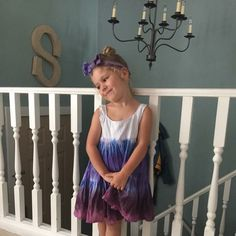 I love this new style custom tie dye dress now available from SeaShellesFolly!