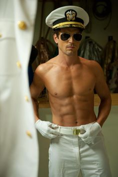 Matt Bomer in Magic Mike. Good Lord!!